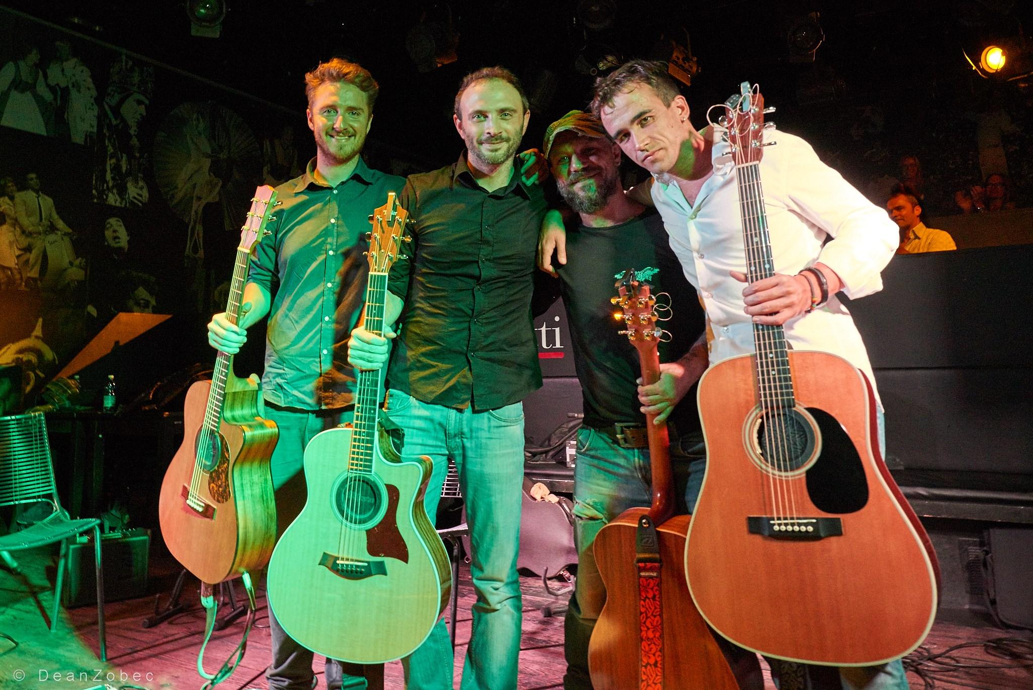 """Annuncio """"Acoustic guitar night"""" a Trieste!"""
