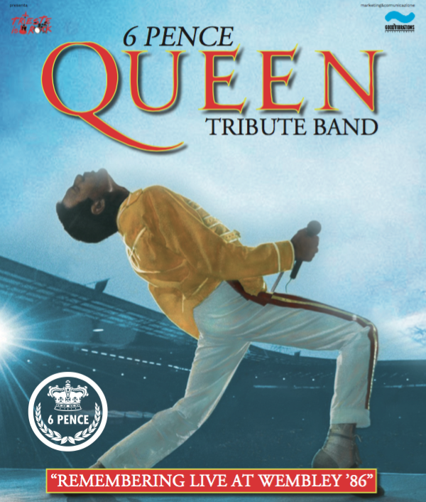 6 Pence – Queen tribute SPECIALE WEMBLEY 1986 a UDINE!