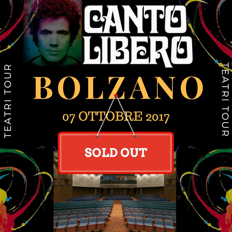 Canto Libero: sold out la prima data!