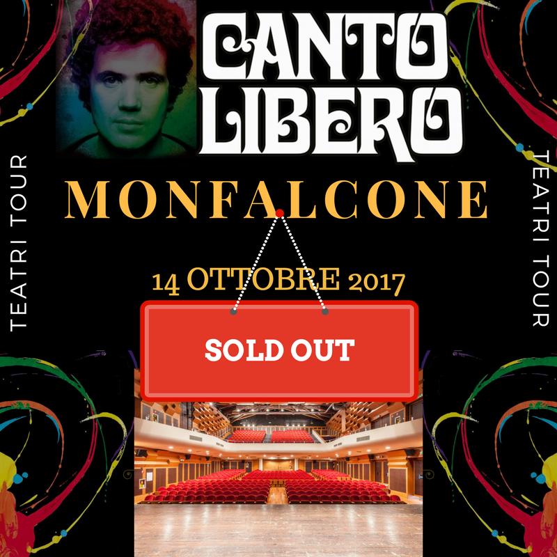 Canto Libero: sold out anche a Monfalcone!