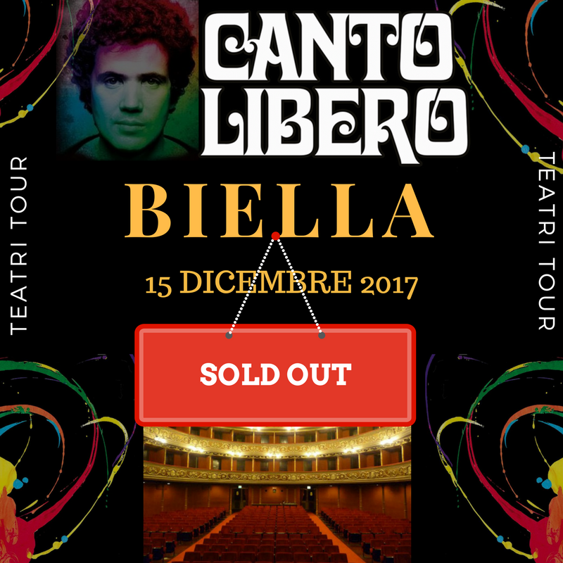 Canto Libero: doppio sold out! Biella e Brescia
