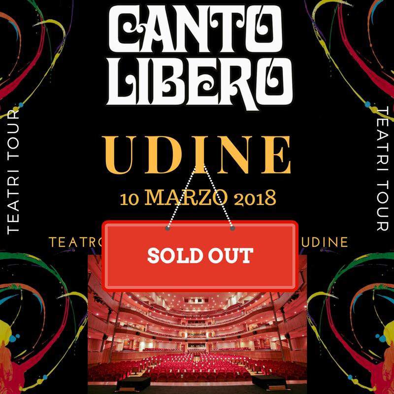 Canto Libero: data di Udine sold out in prevendita!