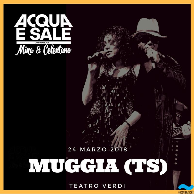 Acqua e sale: nuovo show a Muggia (TS)