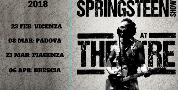 "Annunciato il ""Theater tour 2018"" dei Blood Brothers – Bruce Springsteen Show"