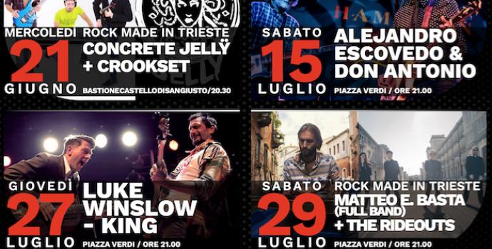 "Presentata ""Hot in the city – rassegna rock"" 2^ edizione"