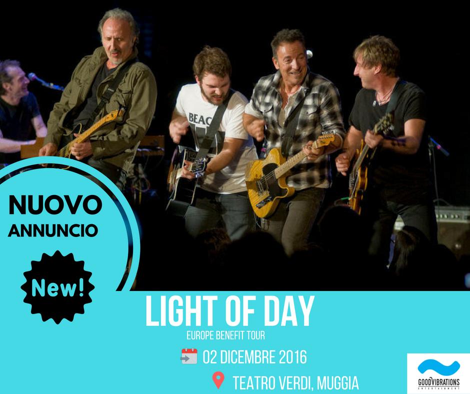 ANNUNCIO EVENTO: Light of Day Benefit – Muggia (TS) 02.12.2016