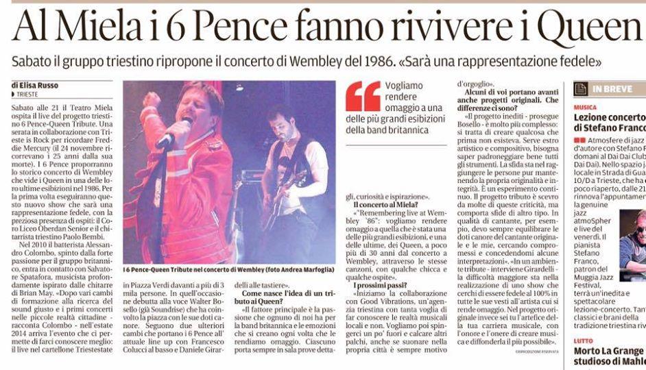 [RASSEGNA STAMPA] 6 PENCE – Teatro Miela di Trieste
