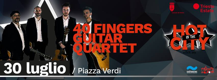 "Recupero data ""40 fingers – guitar quartet"""