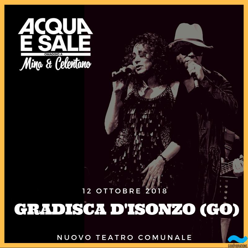 Acqua e sale: l'anteprima del nuovo tour teatrale a Gradisca d'Isonzo