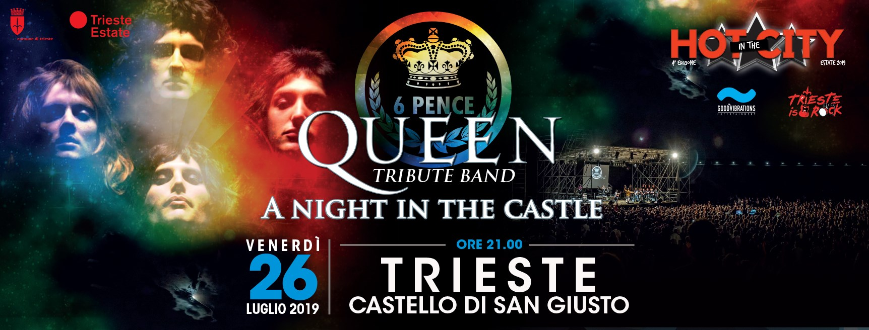 "Rimborso evento ""6 Pence – A night in the castle"" del 26.07.2019"