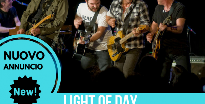 ANNUNCIO EVENTO: Light of Day Benefit – Muggia (TS) 02.12.2016