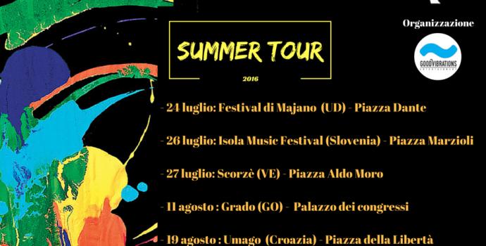 """Il """"Summer Tour"""" 2016 di Canto Libero"""