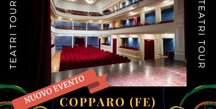 """Canto Libero"" Teatri Tour 2016/2017 – annuncio data a Copparo (FE)"
