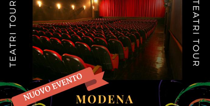 """""""Canto Libero"""" Teatri Tour 2016/2017 – annuncio data a Modena"""