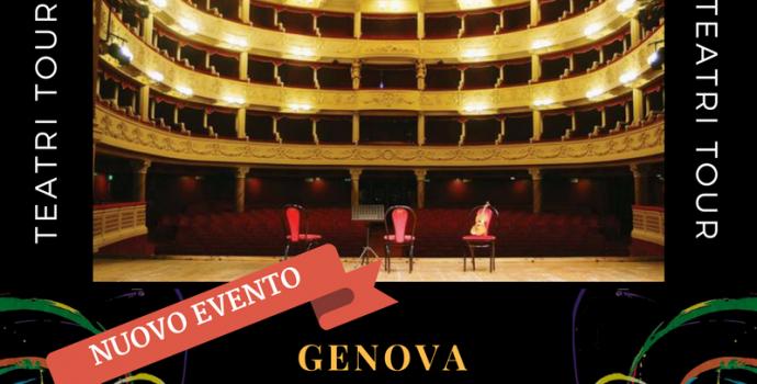 """Canto Libero"" Teatri Tour 2016/2017 – annuncio data a Genova"