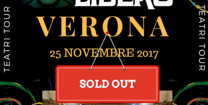 Canto Libero: sold out anche a Verona!