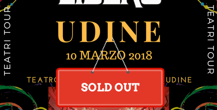Canto Libero: data di Udine sold out in prevendita!