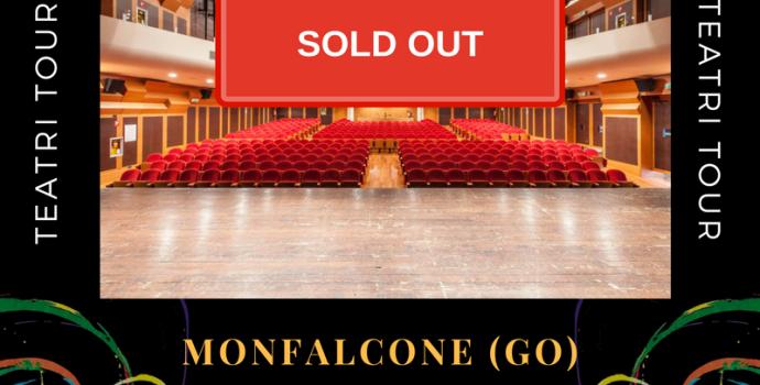 CANTO LIBERO: Sold out la data di Monfalcone (15 ottobre)