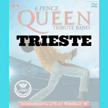 Queen Tribute – SPECIALE WEMBLEY '86 | Trieste
