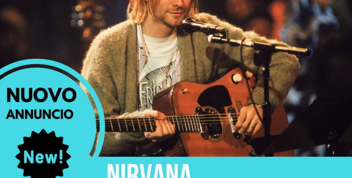 ANNUNCIO EVENTO: NIRVANA 25th anniversary