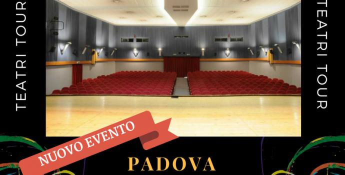 """Canto Libero"" Teatri Tour 2016/2017 – annuncio data a Padova"