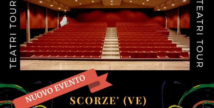 """""""Canto Libero"""" Teatri Tour 2016/2017 – annuncio data a Scorzè (Ve)"""