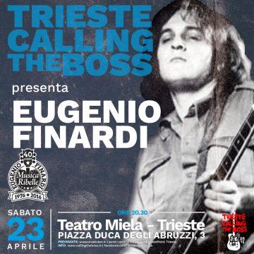 Eugenio Finardi a Trieste