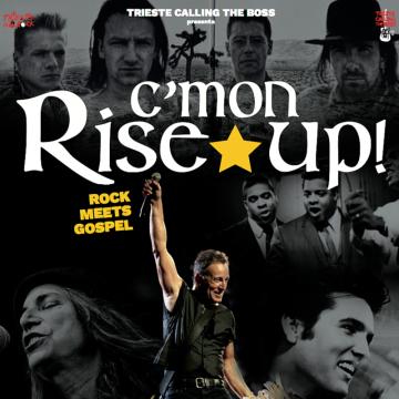 """""""C'MON RISE UP"""" – Rock meets Gospel"""
