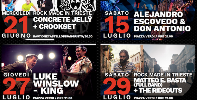 "Presentata ""Hot in the city – rassegna rock"" 2^ edizione"