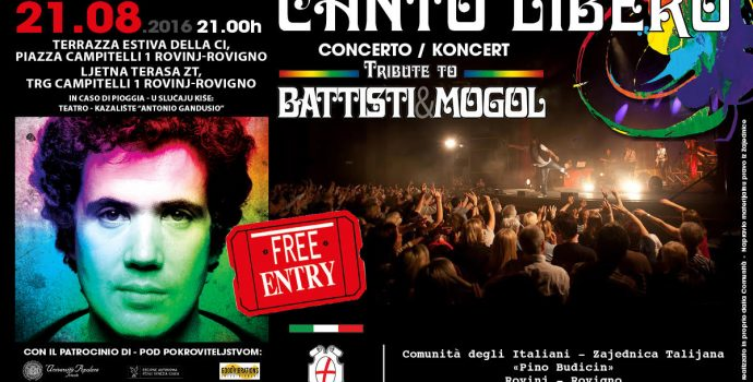 """Canto Libero"" Summer Tour: 6^ data Rovigno (Croazia)"